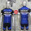 ชุดปั่นจักรยานแขนสั้นทีม Etixx Quick Step 2016 เสื้อปั่นจักรยาน กับ กางเกงปั่นจักรยาน สีน้ำเงิน 307