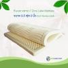ท็อปเปอร์ยางพารา 7 Zone Latex Topper ขนาด 3.5 ฟุต 2 นิ้ว หุ้มผ้า Bamboo Soft
