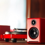 Audioengine A2+ สีแดง