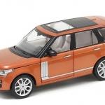 ขาย พรีออเดอร์ โมเดลรถเหล็ก โมเดลรถยนต์ Land Rover SUV Off Road ส้ม 1:24 มีโปรโมชั่น