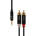 Prolink HMM103-0150 3.5mm ST Plug - 2*RCA Plugs ยาว 1.5 เมตร