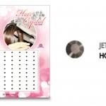 แฮร์คริสตัล 96 เม็ด - HC B 016
