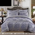Jacquard highclass bedding ชุดผ้าปูที่นอนคอตตอน แจ็คการ์ด
