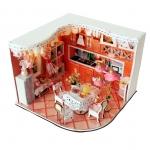 wooden doll house 3D puzzle ห้องครัว