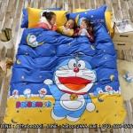 ผ้าปูที่นอน ลายโดเรม่อน & คิตตี้ Bedding set