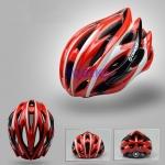 หมวกจักรยาน Giant ทรงสปอร์ต สีแดงแบบที่2