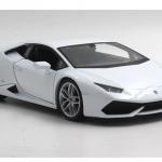 พร้อมส่ง โมเดลรถเหล็ก โมเดลรถยนต์ Lamborghini huracan LP610-4 ขาว สเกล 1:24 มี โปรโมมชั่น