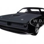 """พรีออเดอร์ รถเหล็ก รถโมเดล US Letty's Plymouth Barracuda Matt Black """"Fast & Furious 7"""" 1:24"""