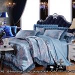 Jacquard highclass bedding ชุดผ้าปูที่นอน แจ็คการ์ด ทอยกดอก
