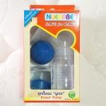 ที่ปั๊มนมเก็บลงขวด Nuebabe ปั๊มมือลูกยาง BPA-Free พร้อมจุกนมและฝา