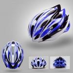 หมวกจักรยาน Giant ทรงสปอร์ต สีน้ำเงินขาวดำแบบที่1