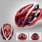 หมวกจักรยาน Giant ทรงสปอร์ต สีแดงแบบที่1