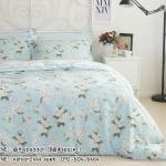 ผ้าปูที่นอน สไตล์วินเทจ พิมพ์ลายดอกไม้