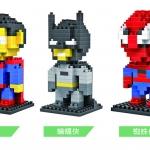 ตัวต่อเลโก้ NANO-BLOCK Super Hero Set **ลด50%