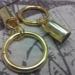 หัวกลม1.2นิ้ว ทอง