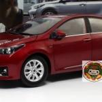 Pre Order โมเดลรถ Toyota Corolla 2014 แดง สเกล 1:18 งานคุณภาพ รุ่นขายดี มีโปรโมชั่น