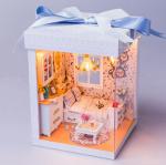 ห้องนอน มาในกล่องของขวัญผูกโบว์สวยงาม