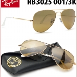 Ray Ban RB3025 001/3K ฺBrown gold 58mm