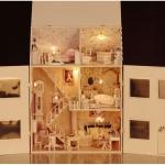 DIY Luxury House ...บ้านหลังใหญ่ 3ชั้น ตกแต่งสวยงาม