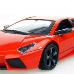 ขาย พรีออเดอร์ โมเดลรถเหล็ก Lamborghini Reventon สีส้มแดง 1:24 มี โปรโมชั่น