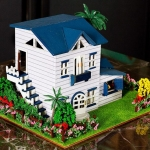 DIY Hot New diy cabin plaid leisure .. บ้านพักตากอากาศ พร้อมสวนสวย