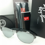 RAY BAN RB8301 004/51 Carbon Fiber Tech Silver mirror polarized 59MM