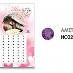 แฮร์คริสตัล 96 เม็ด - HC B 02