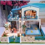 DIY private pool villa luxury model . . บ้านในฝัน พร้อมสระว่ายน้ำ