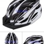 หมวกจักรยาน GIANT สีดำขาว