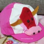 หมวกแก๊ปเด็กเล็ก ลายสัตว์