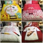 ผ้าคลุมเตียงหลากสี เปลี่ยนห้องนอนให้ดูสดใส