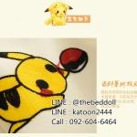 ผ้าม่าน ลายการ์ตูนโปเกม่อน สีเหลือง Pokemon