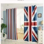 ผ้าม่านหน้าต่างลายธงชาติ