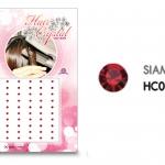แฮร์คริสตัล 96 เม็ด - HC B 04