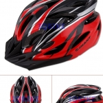 หมวกจักรยาน GIANT สีแแดงดำ