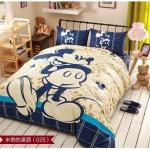 """""""6ฟุต พร้อมส่ง"""" ผ้าปูที่นอน ลายมิคกี้เม้าส์ Mickey Mouse Bedding Set"""
