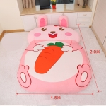 ที่นอนตุ๊กตา ลายกระต่าย Rabbit สีชมพู