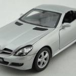 Pre Order โมเดลรถยนต์ รถเหล็ก Benz SLK 350 coupe เงิน 1:24 มีโปรโมชั่น