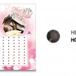 แฮร์คริสตัล 96 เม็ด - HC B 019