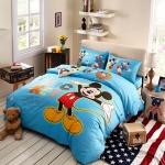ผ้าปูที่นอน ลายมิคกี้เม้าส์ และเพื่อน Mickey Mouse and friends bedding Set