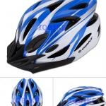 หมวกจักรยาน GIANT สีฟ้าขาว