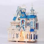 บ้านหลังใหญ่สีฟ้า Villa fantasy fairy tale