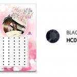 แฮร์คริสตัล 96 เม็ด - HC B 05