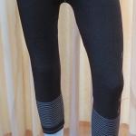 กางเกงเลคกิ้ง 7 ส่วน ผ้าทอ (ลายกระดุม)