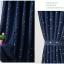 ผ้าม่านสีทึบ รูปดาว(สีเงิน) กัน UV ยูวี thumbnail 3