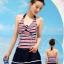ชุดว่ายน้ำ Sporty Girl D01 Navy thumbnail 2