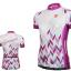 เสื้อปั่นจักรยานแขนสั้นผู้หญิง SOUKE สีม่วง : CL2002 thumbnail 1
