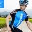 เสื้อปั่นจักรยานแขนสั้น SOUKE สีน้ำเงิน : CS3000 thumbnail 2