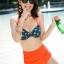 ชุดว่ายน้ำ บิกินี่ ชุดว่ายน้ํา เอวสูง Funny Girl thumbnail 5