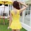 ชุดว่ายน้ำ วันพีช So Sweet (Yellow) แบบกระโปรง thumbnail 3